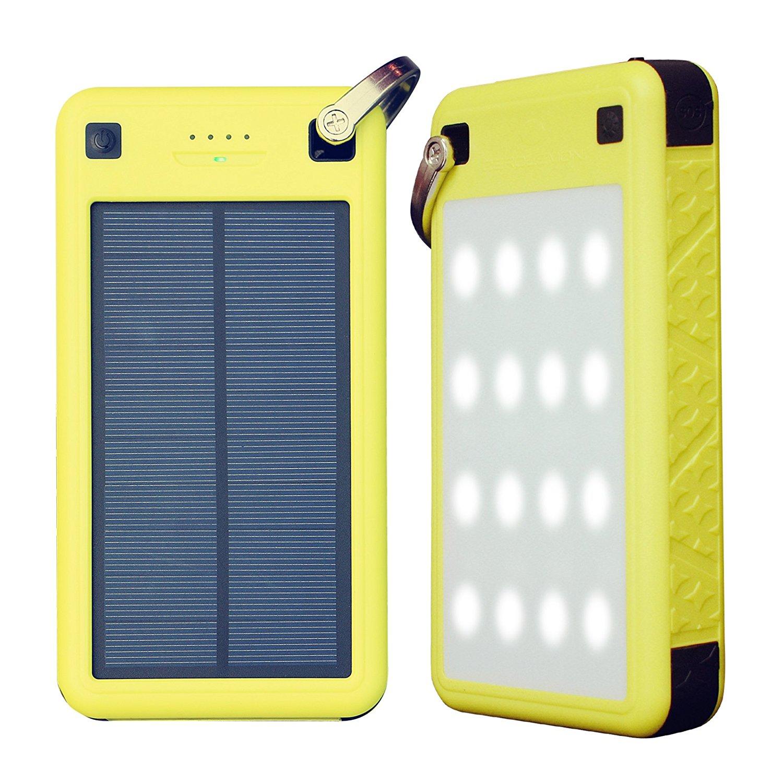 $29.99 26800mAh Solar Charger, ZeroLemon SolarJuice USB-C/QC 3.0
