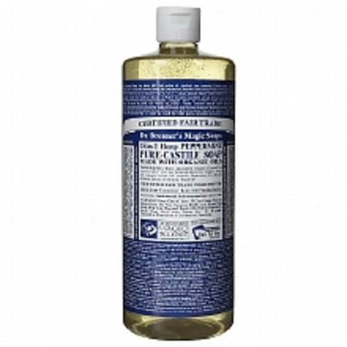 32oz. Dr. Bronner's Hemp Pure Castile Soap (Peppermint, Lavender, Almond) 3 for $32 at Walgreens $31.98