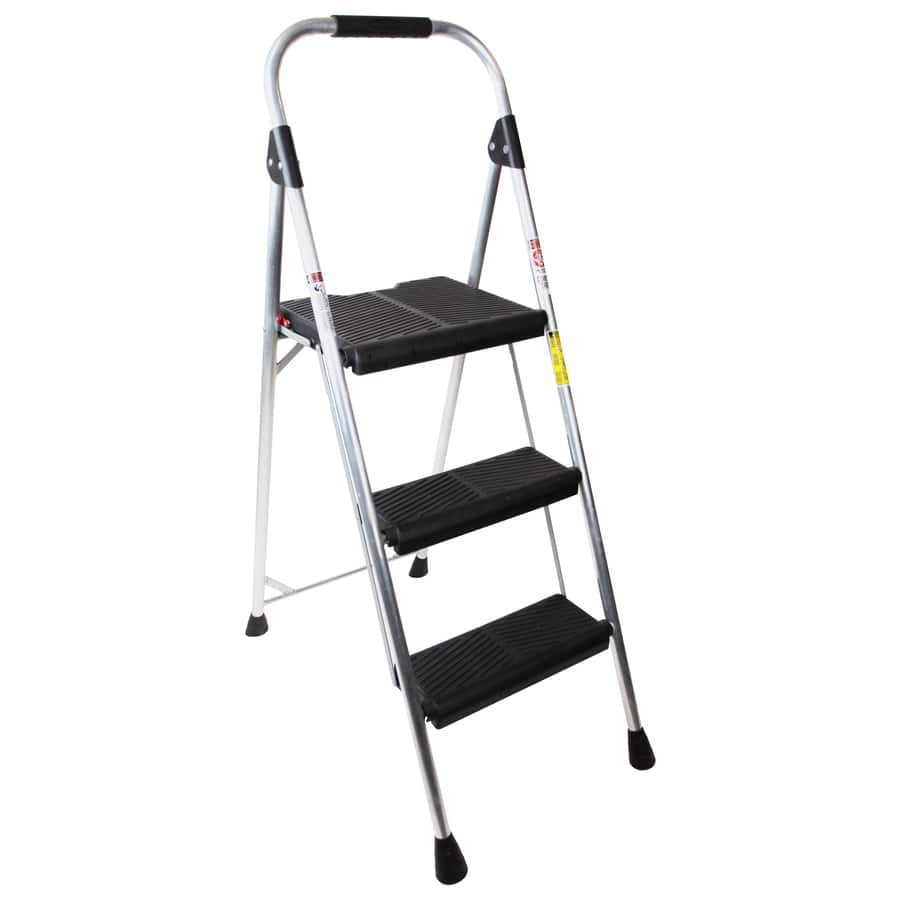 Werner 3-Step 225-lb Silver Aluminum Step Stool $14.97 at Lowe's Free Store Pick Up
