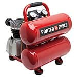 PORTER-CABLE 1.1-HP 4-Gallon 135-PSI 120-Volt Twin Stack Electric Air Compressor PCFP02040 $89.55 (Regular $199.00) + free pickup at Lowes B&M (YMMV)