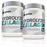 Collagen Powder Peptides 16oz Unflavored Hydrolyzed Collagen Grass-Fed Non-GMO Pure Beef Protein Supplement 1 Pound | 30% off