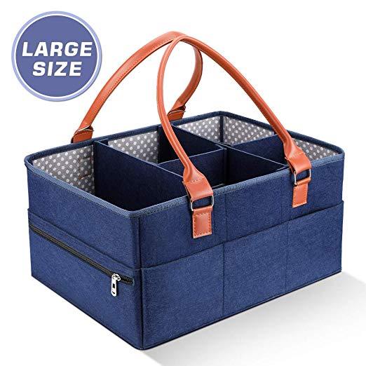 6a07f55a5b4b Baby Diaper Caddy Organizer | $9.99 @Amazon - Slickdeals.net