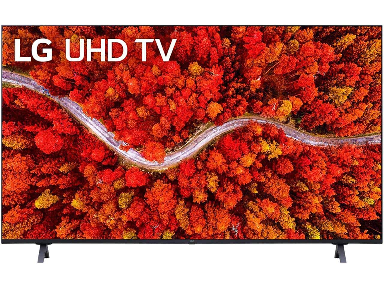"""43"""" LG 43UP8000PUA 4K Smart LED TV (2021) $347 at Newegg $346.99"""