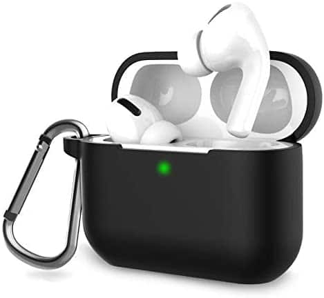 AirPods Pro Case Cover, Music Tracker Protective Silicone Carrying Case with Keychain $3.5