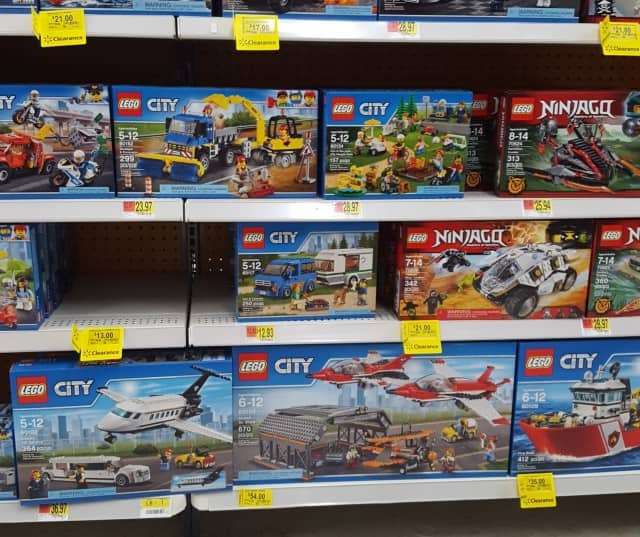 Massive LEGO Clearance in Walmart B&M (YMMV)