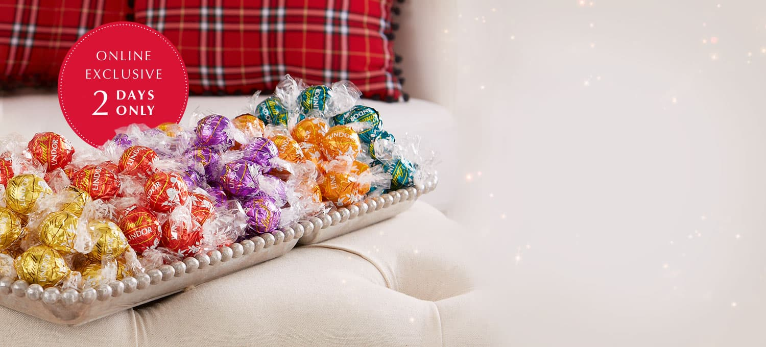 Lindt: 35% off  Sitewide