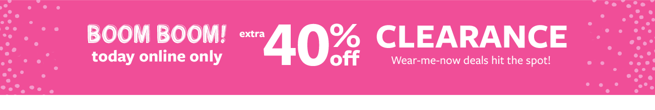 Carter's and OshKosh: Extra 40% Off Clearance. Today Only
