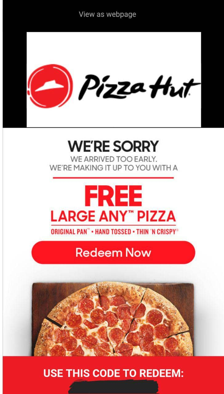Pizza Hut, with all its various sales and deals on purchasing on multiple pizzas, can leave you with more pizza than you can eat. It can be hard to pass up a great deal on pizza, even when you know you can.