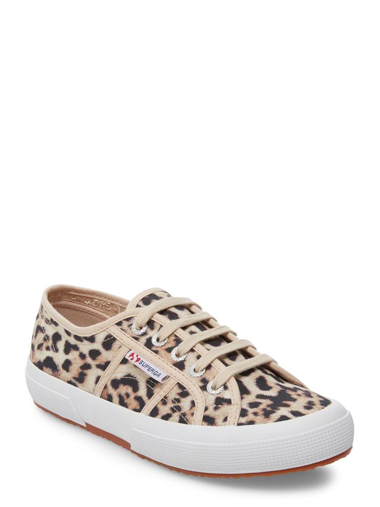 Superga - Superga 2750 Leopard Lace-up Canvas Sneaker (Women's) - Walmart.com - $19.99