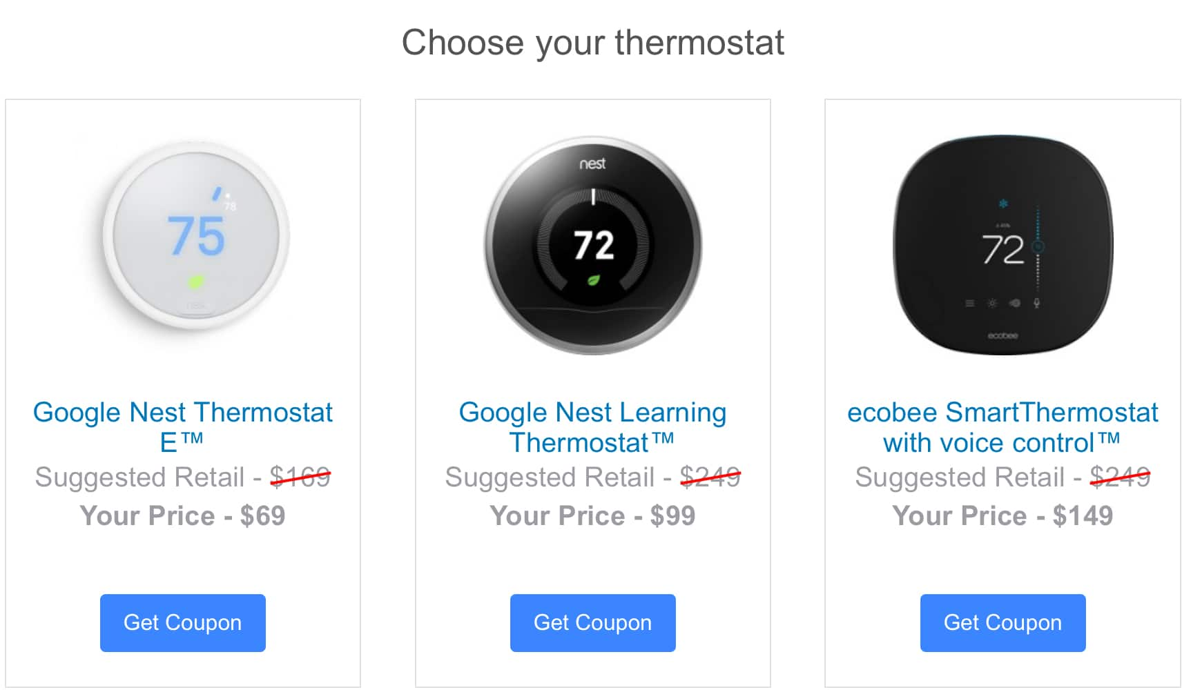 Portland General Electric (Oregon) customers only - Google Nest Learning Thermostat - $99