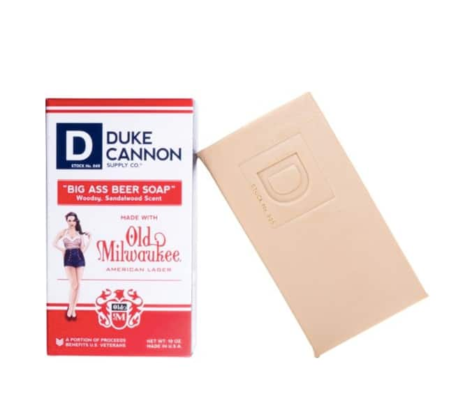 Duke Cannon - Big Ass Beer Soap - Cream $4.99