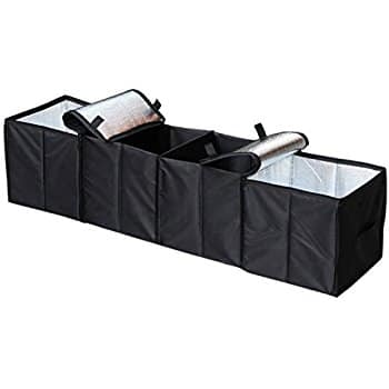 $9.99AC Deler Foldable 4-Compartment Trunk Organizer with Cooling and Insulation