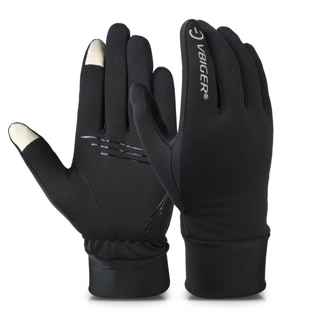 $5.49AC Vbiger Winter Gloves Touch Screen Gloves Outdoor Cycling Gloves For Men And Women - AMAZON
