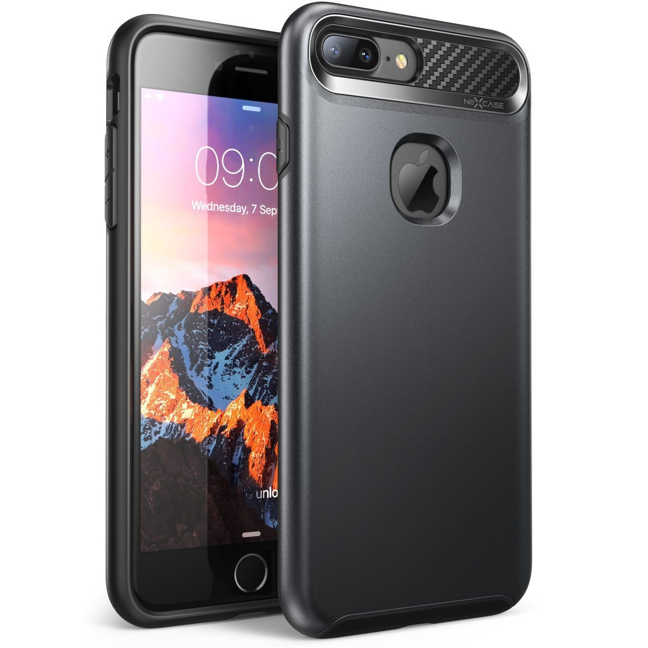 NexCase iPhone 7 Plus Case, Armored Hybrid TPU Cover From $3.85 FS w/Prime