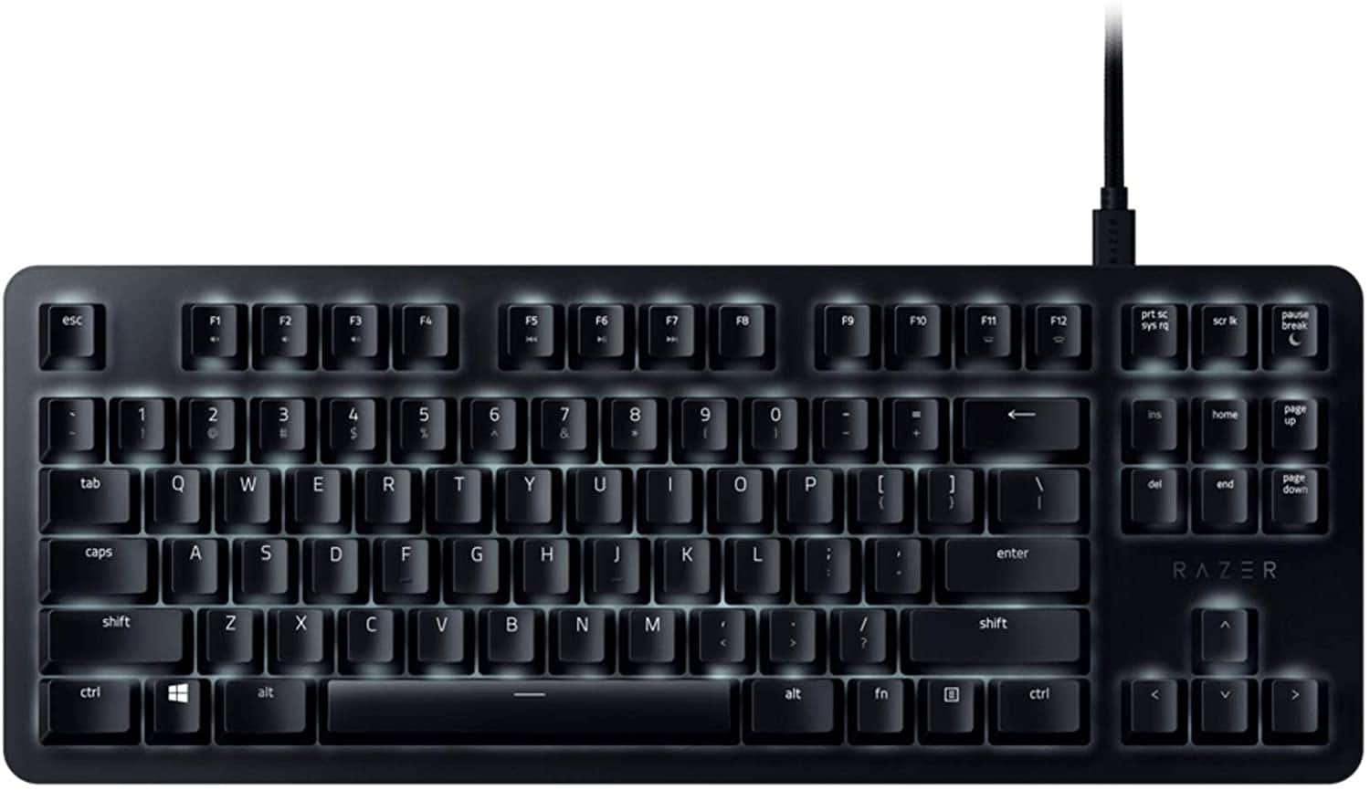 Razer BlackWidow Lite TKL Tenkeyless Mechanical Keyboard - Black $61.59 - Amazon