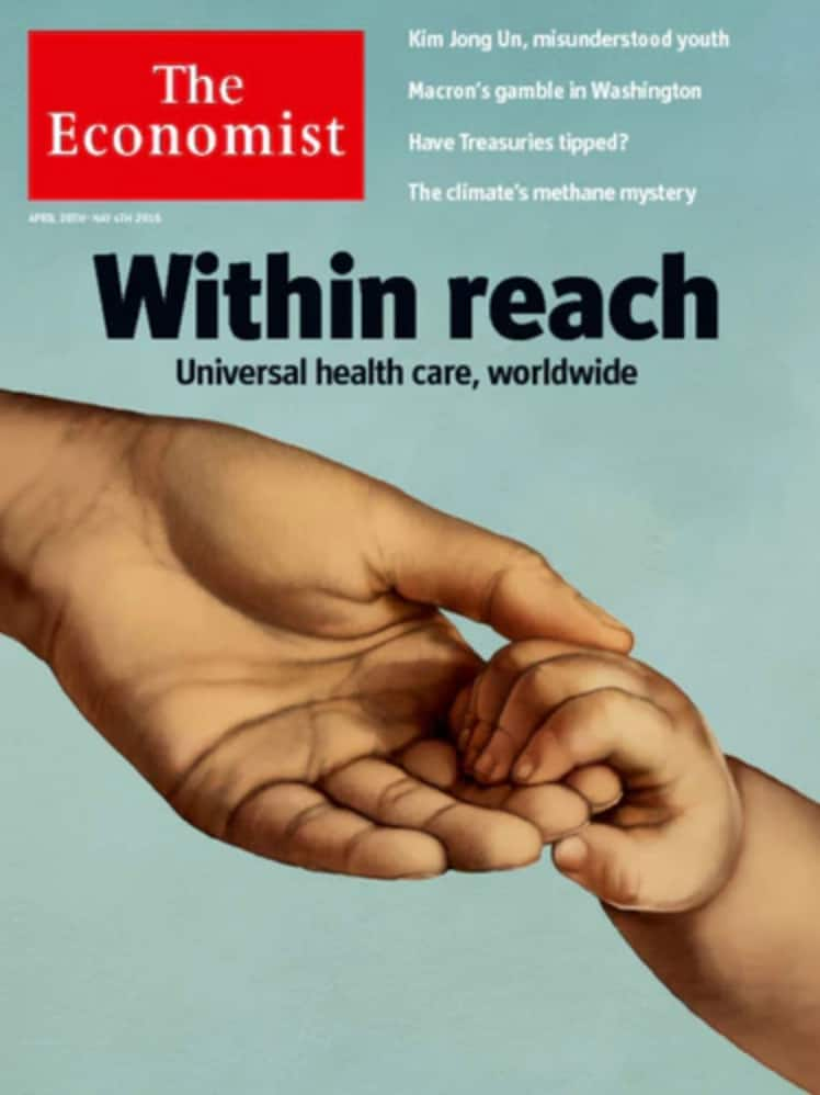 1 year of The Economist $49