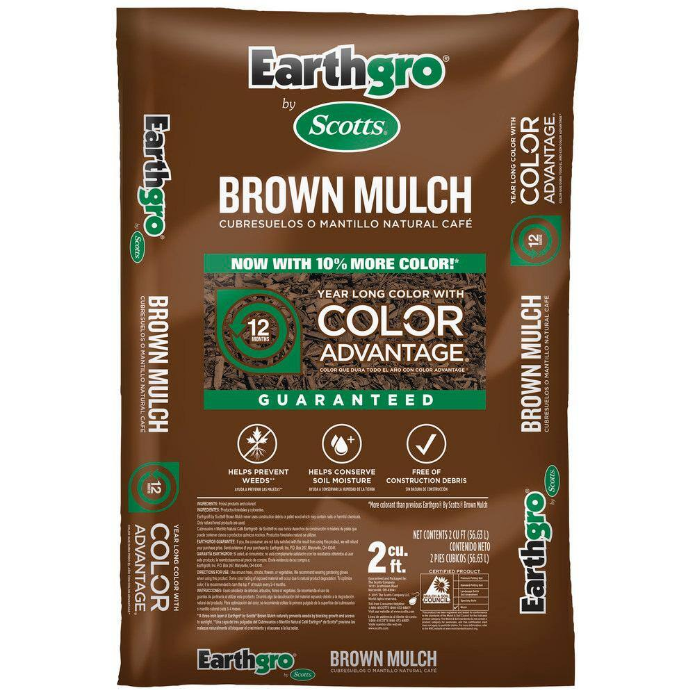 EarthGro 2 cu. ft. Mulch $2 + store pick up from Home Depot $2 YMMV