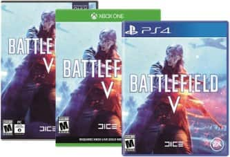 Save $20 on Battlefield V for PS4, Xbox One or Windows. $39.99
