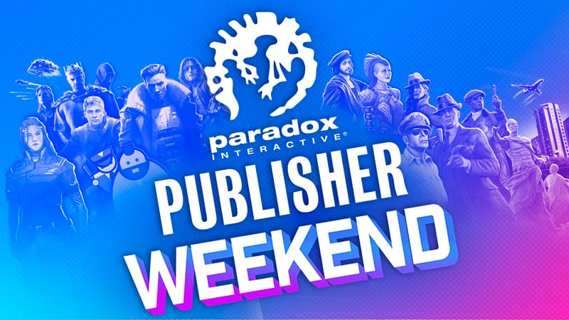 PCDD: Steam Paradox Interactive Publisher Sale - Up to 80% off