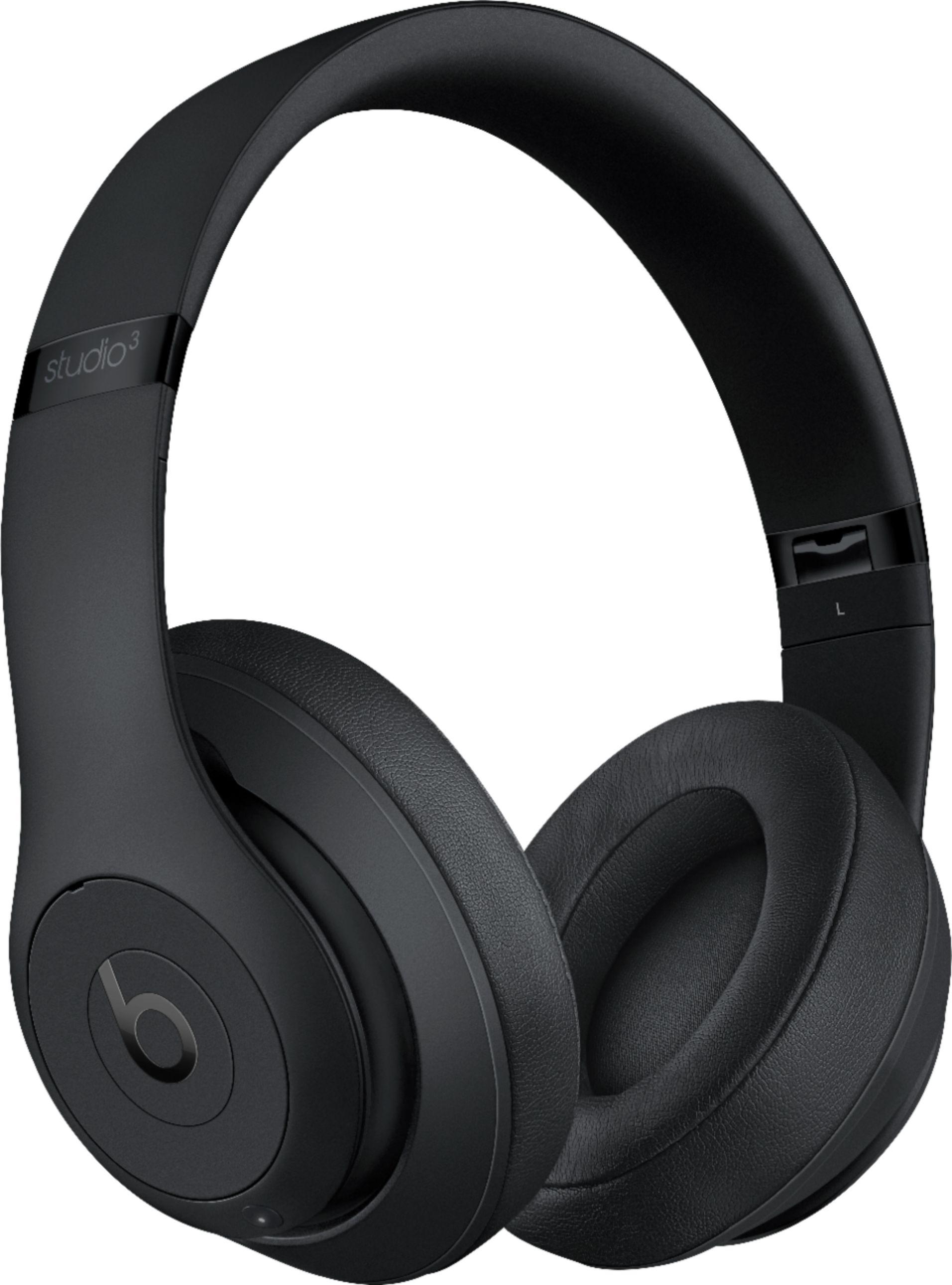 Beats Studio3 Wireless Bluetooth Headphones (Matte Black) $199