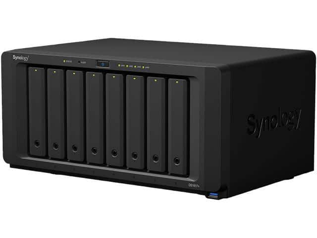 Synology DS1817+ (2GB) Diskless System High Performance NAS Optimized for Encryption and Intensive Tasks $825