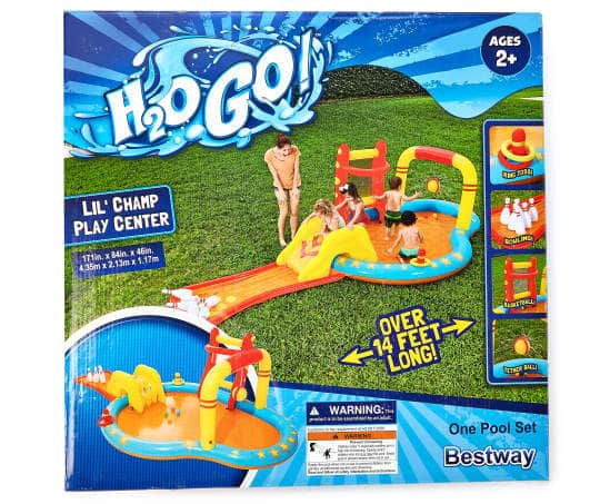 Bestway H2O Go Lil' Champ Play Center, (14' x 7') $25