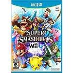 Super Smash Bros. Wii U $49