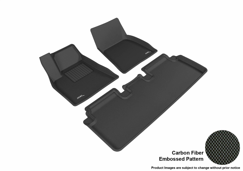 3D MAXpider Complete Set Custom Fit All-Weather Floor Mat for Select Tesla Model S Models - Kagu Rubber (Black or Gray) $153.21