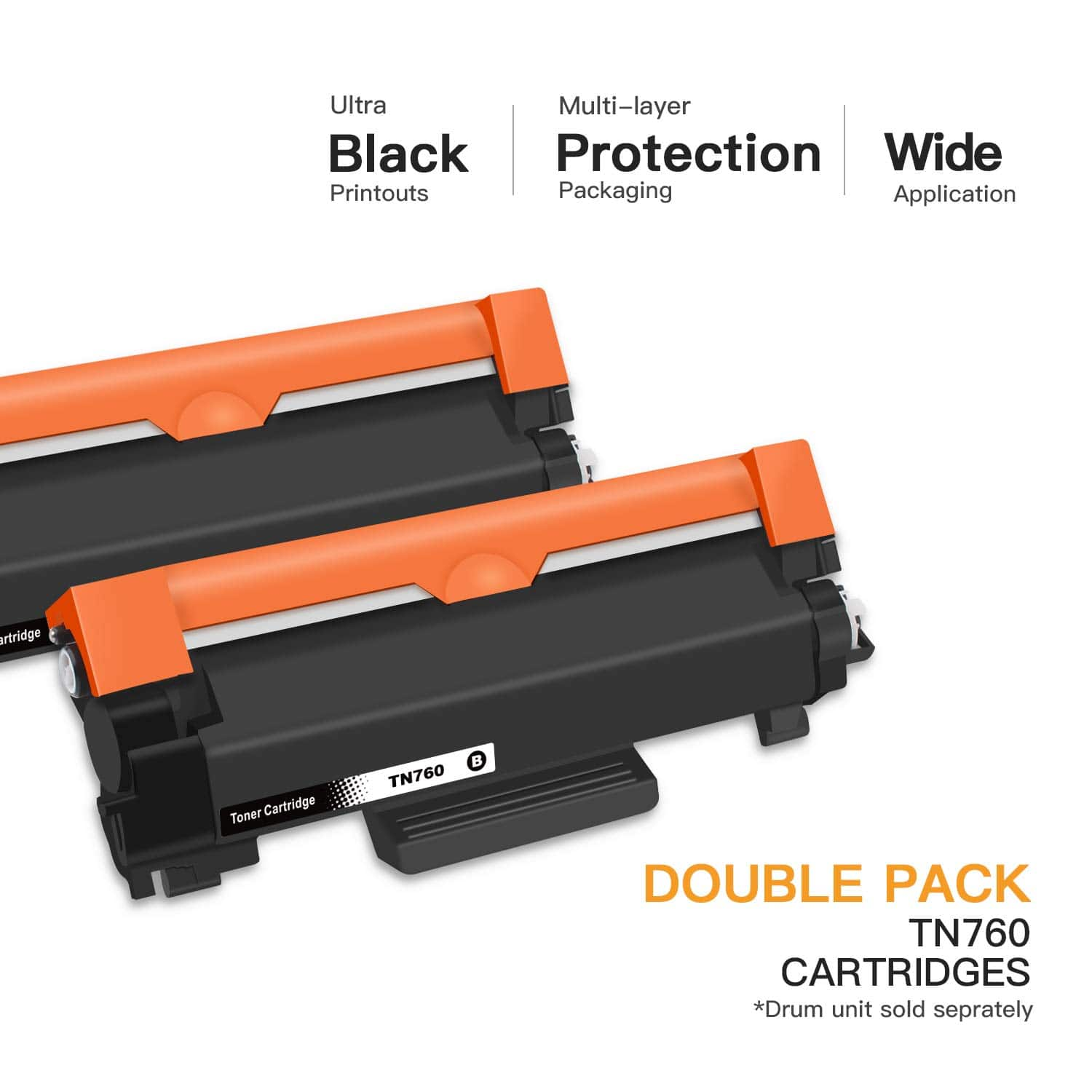 E-Z Ink (TM) Compatible Toner Cartridge Replacement for Brother TN-760 $19.99