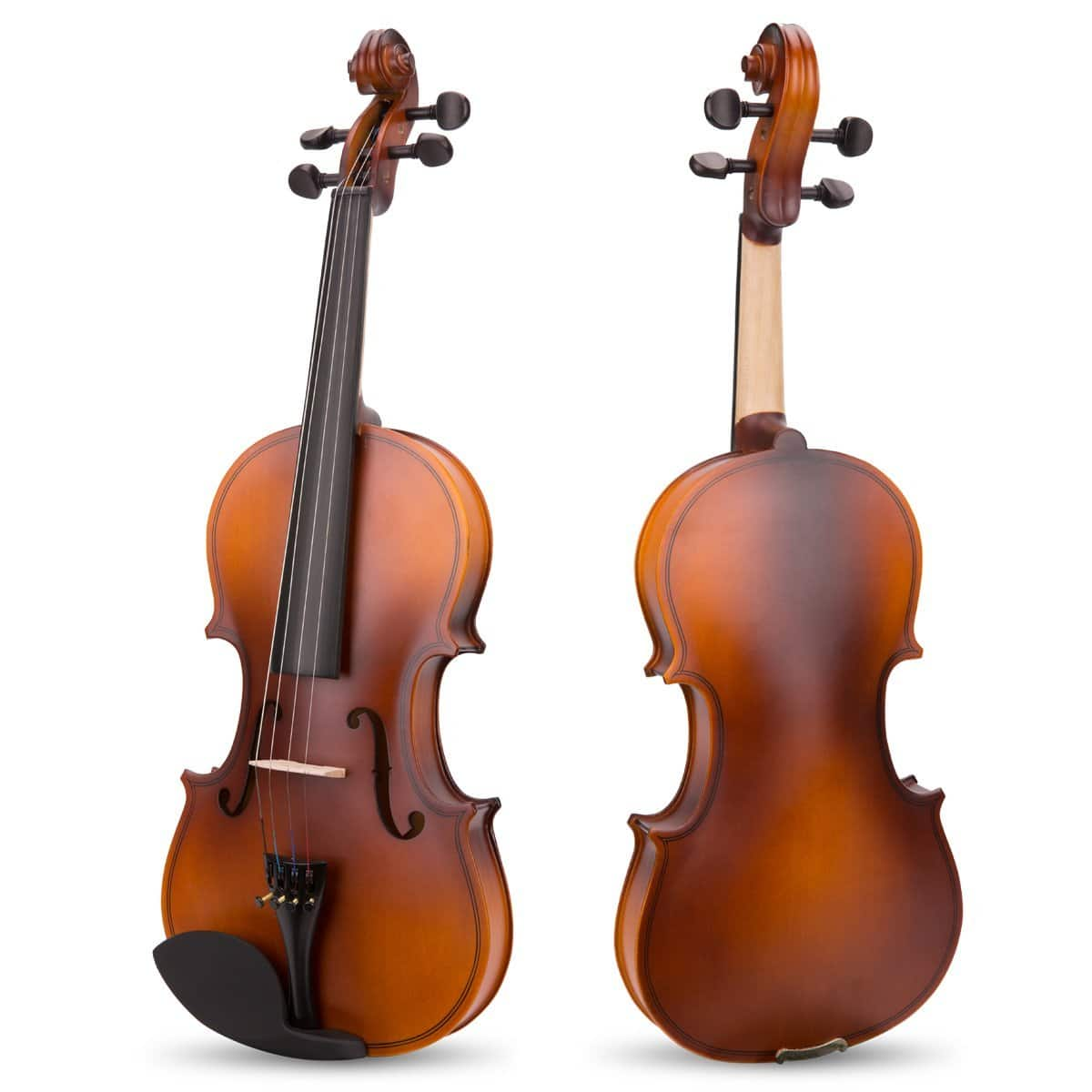 Handcrafted Solid Wood Small Guitar or Full Size Violin $19-$38