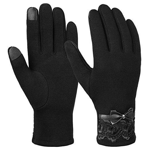 Women's Warm Winter Touch Screen Gloves $3.19