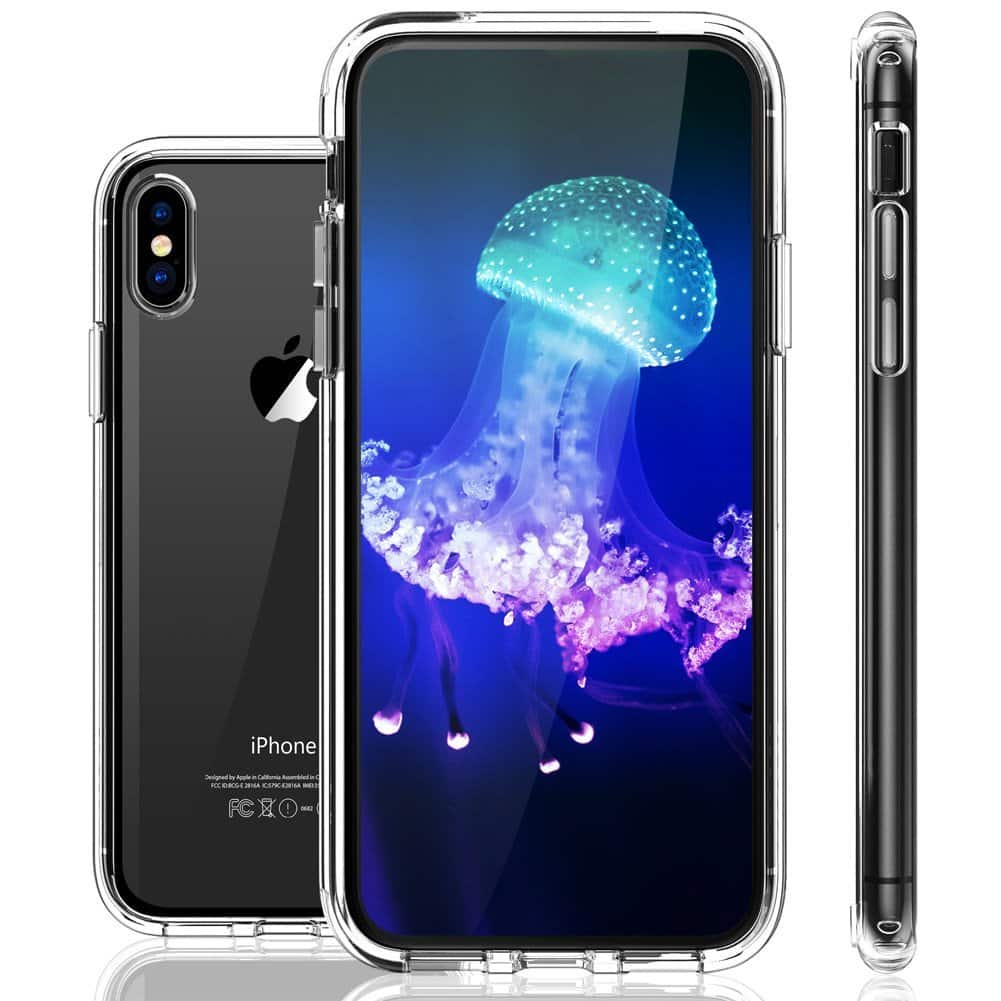 IPhone X Case,IPhone 8 Plus / 7 Plus Case Clear Shockproof Cover from $2.50
