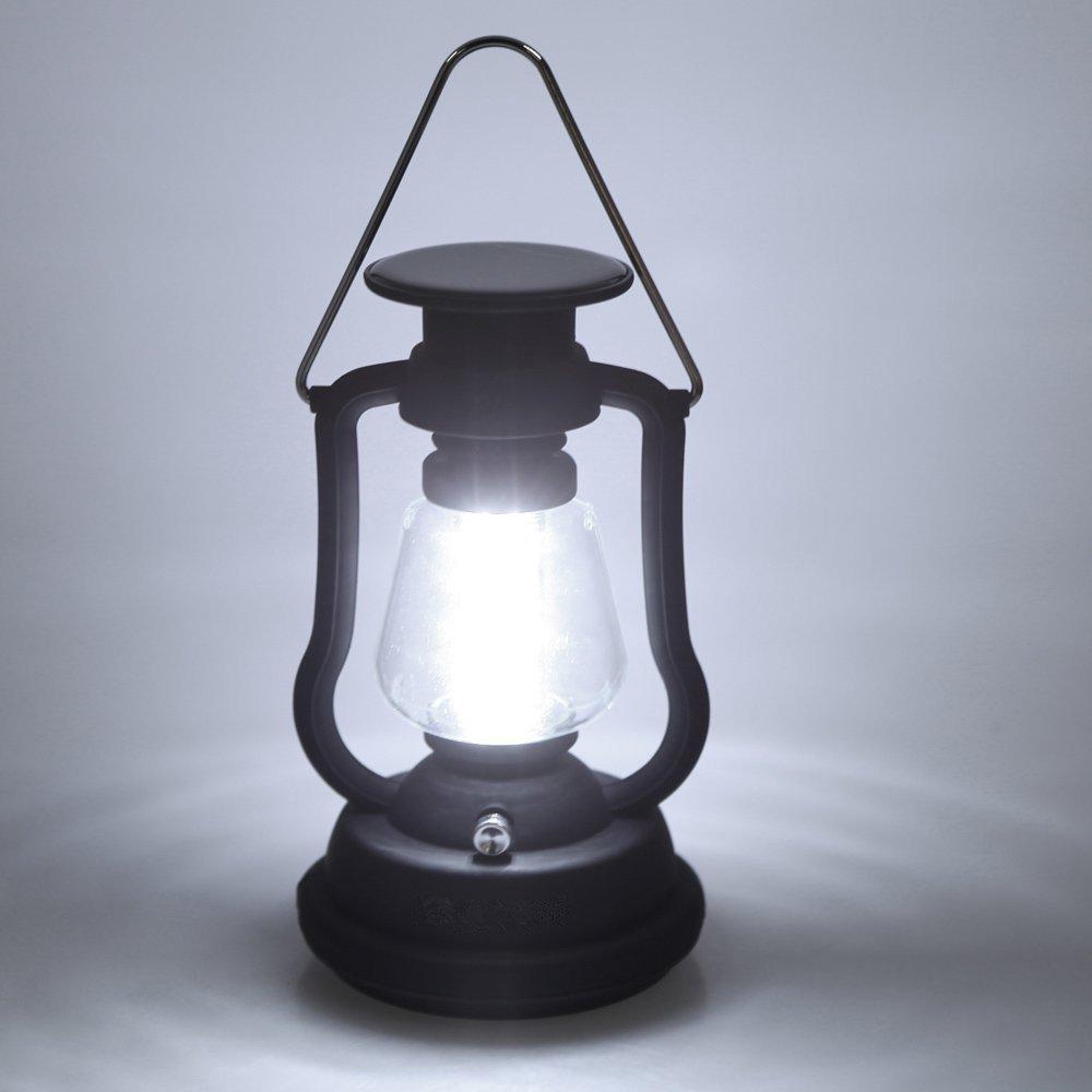 Portable Outdoor LED Solar & Hand Crank Lantern w/ 16 LED $11.69