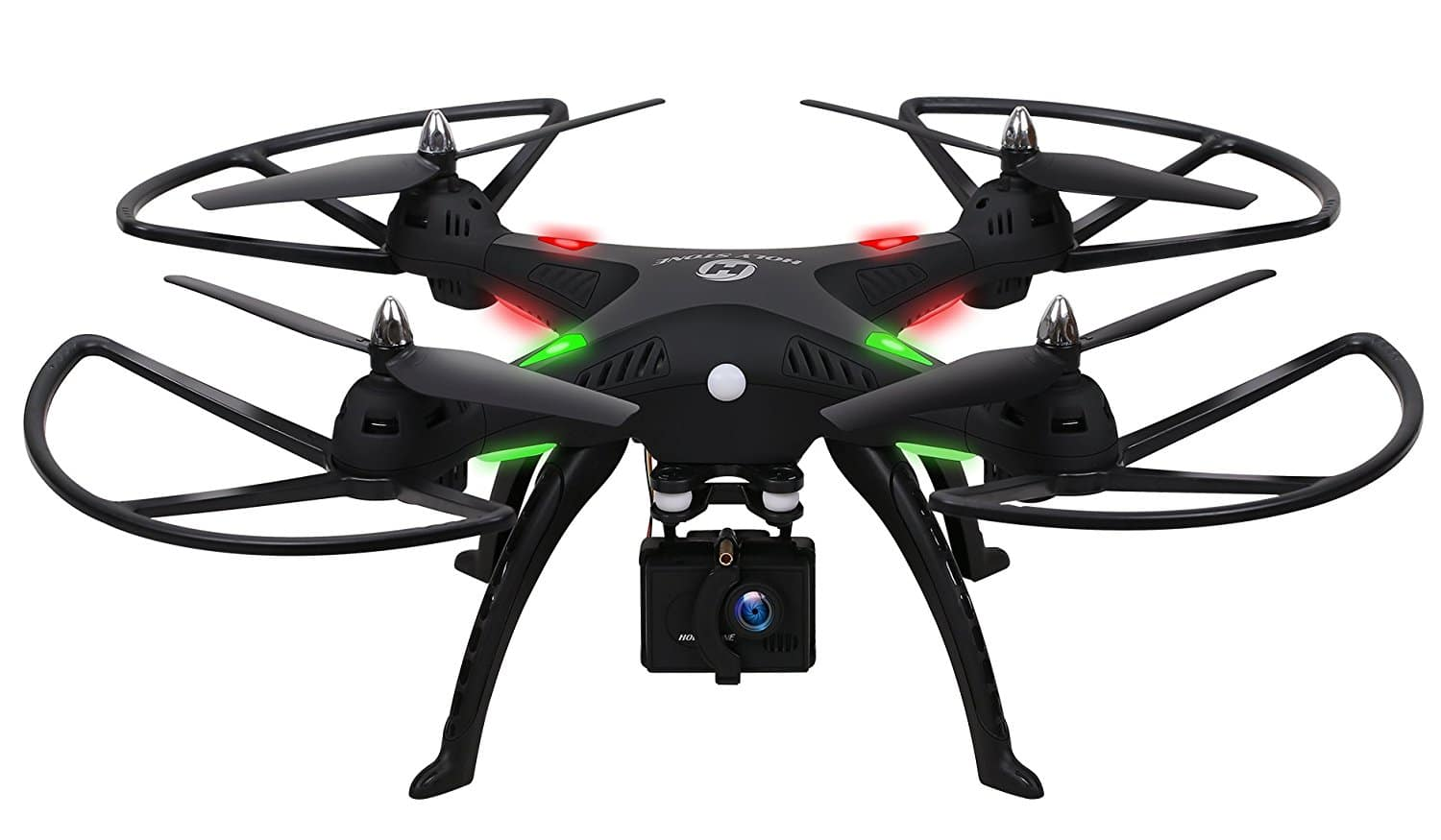 HS300 6-Axis Headless RC Quadcopter Drone with 1080P Camera for $98.99 AC + Free Shipping