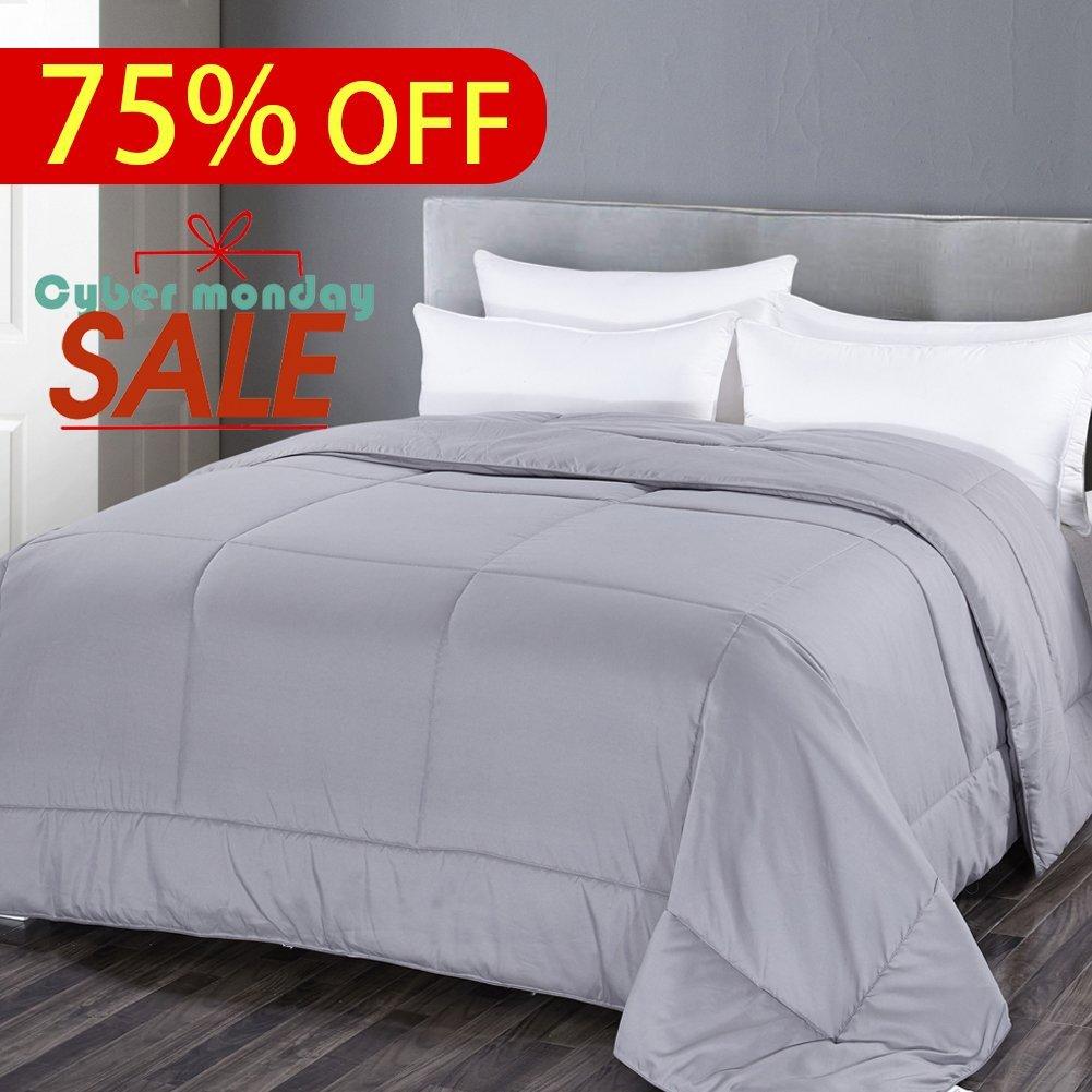 Grey Goose Down Alternative Twin XL\Twin Comforter  @Amazon $30