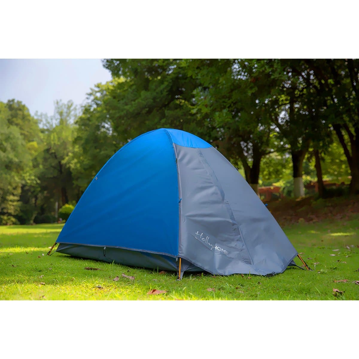 Backpacking Tent with Carrying Bag & Accessories - Double Layer, 4 Seasons, Lightweight and Water Resistant @Amazon $20