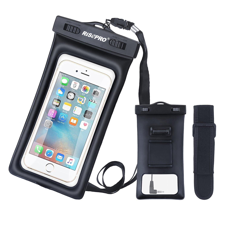 Waterproof Phone Case - Dry Bag w/ Armband & Audio Jack - Touchable  @Amazon $2.94