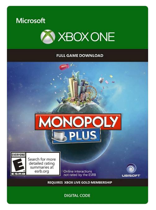 Monopoly Plus - Xbox One Digital Code $4.49