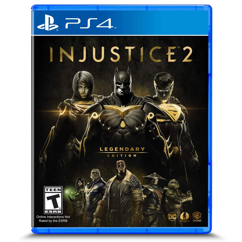Injustice 2: Legendary Edition - Playstation 4 $14.99