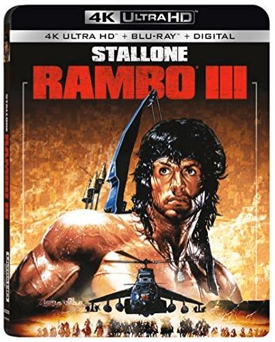 RAMBO III 4K Ultra HD + Blu-ray + Digital $7.5