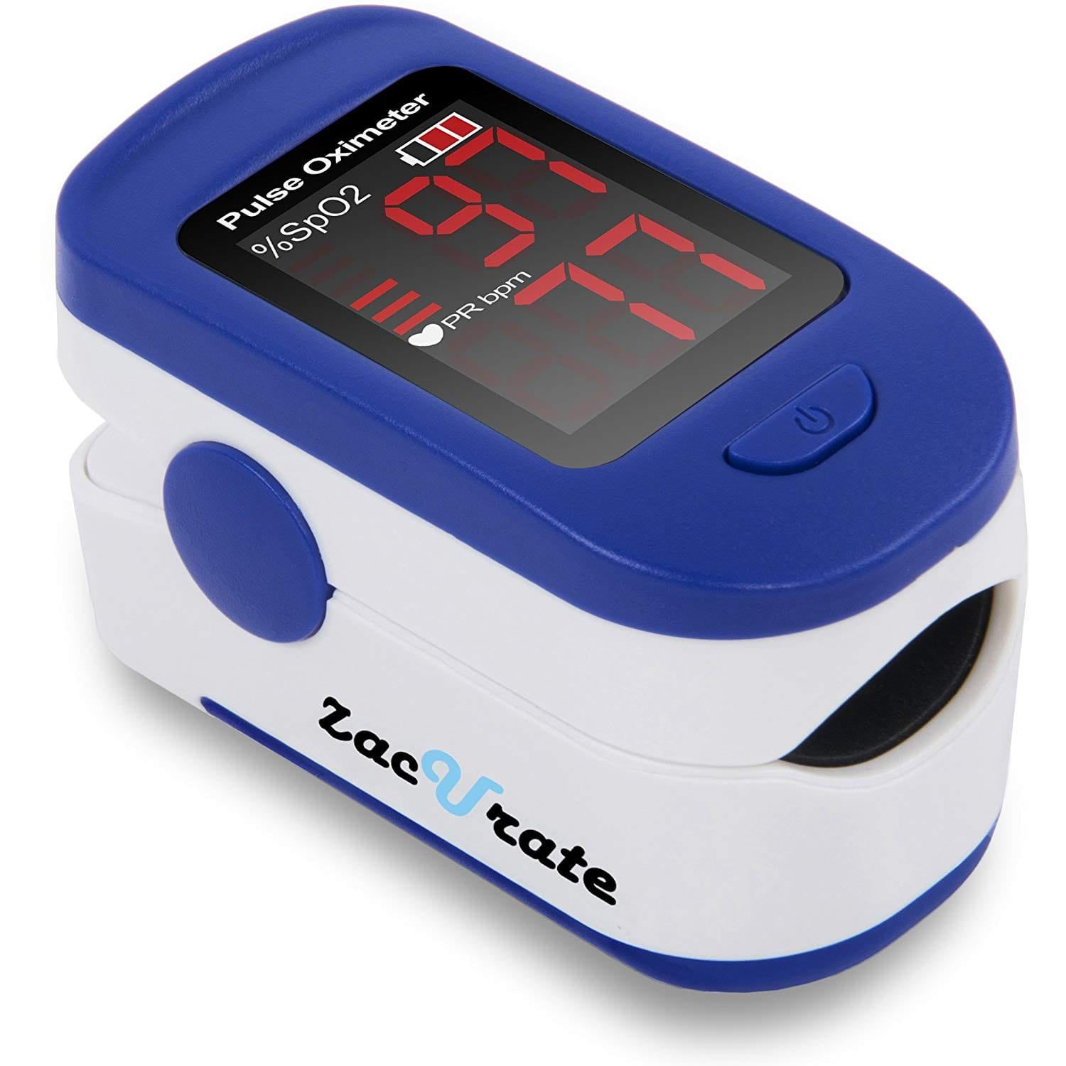 Zacurate 500BL Fingertip Pulse Oximeter Blood Oxygen Saturation Monitor $9.6