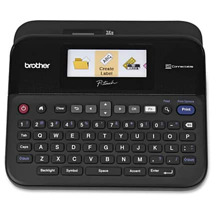 Brother® P-Touch Versatile Label Maker, PTD600 lowest ever at Amazon $49.99
