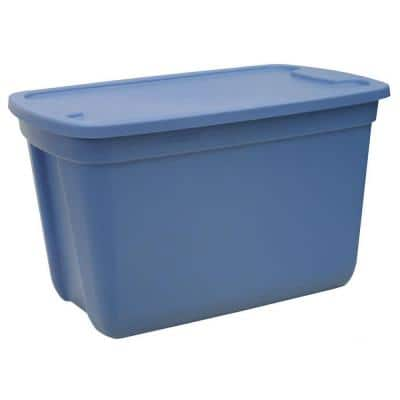 Home Depot - 20 gallon tote plastic containers w/lids - $1.43, reg $5.88 B&M YMMV