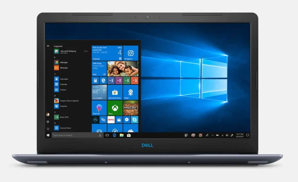 Dell G3 15'' Gaming Laptop for $599