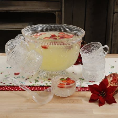Select Walmart stores The Pioneer Woman Adeline 10 pc punch bowl set $2