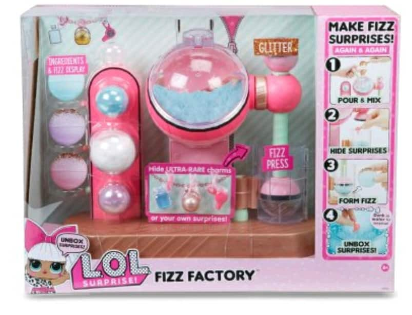 Select Walmart Stores: L.O.L. Surprise Fizz Factory, as low as $4