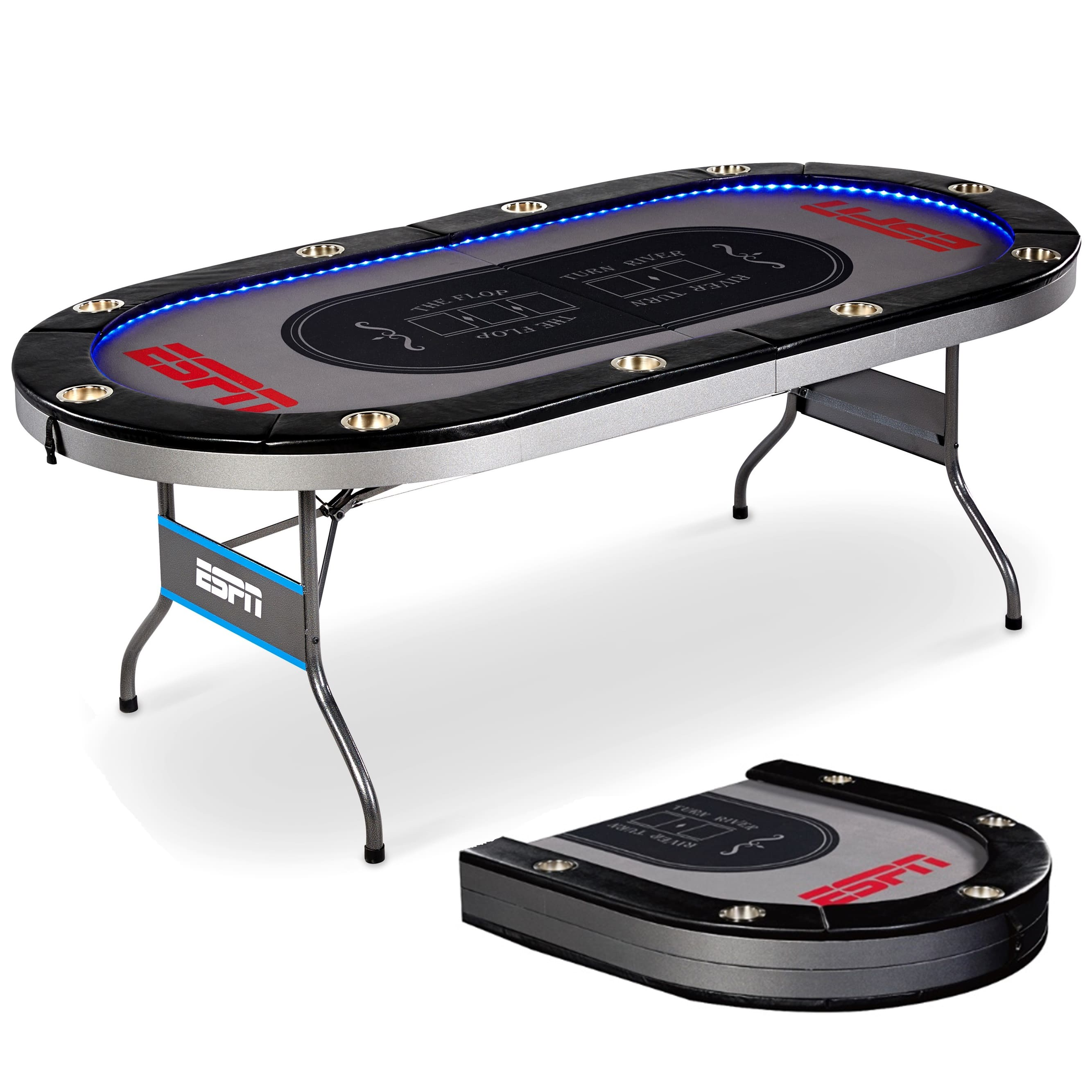 ESPN Foldable Poker Table - $159.99