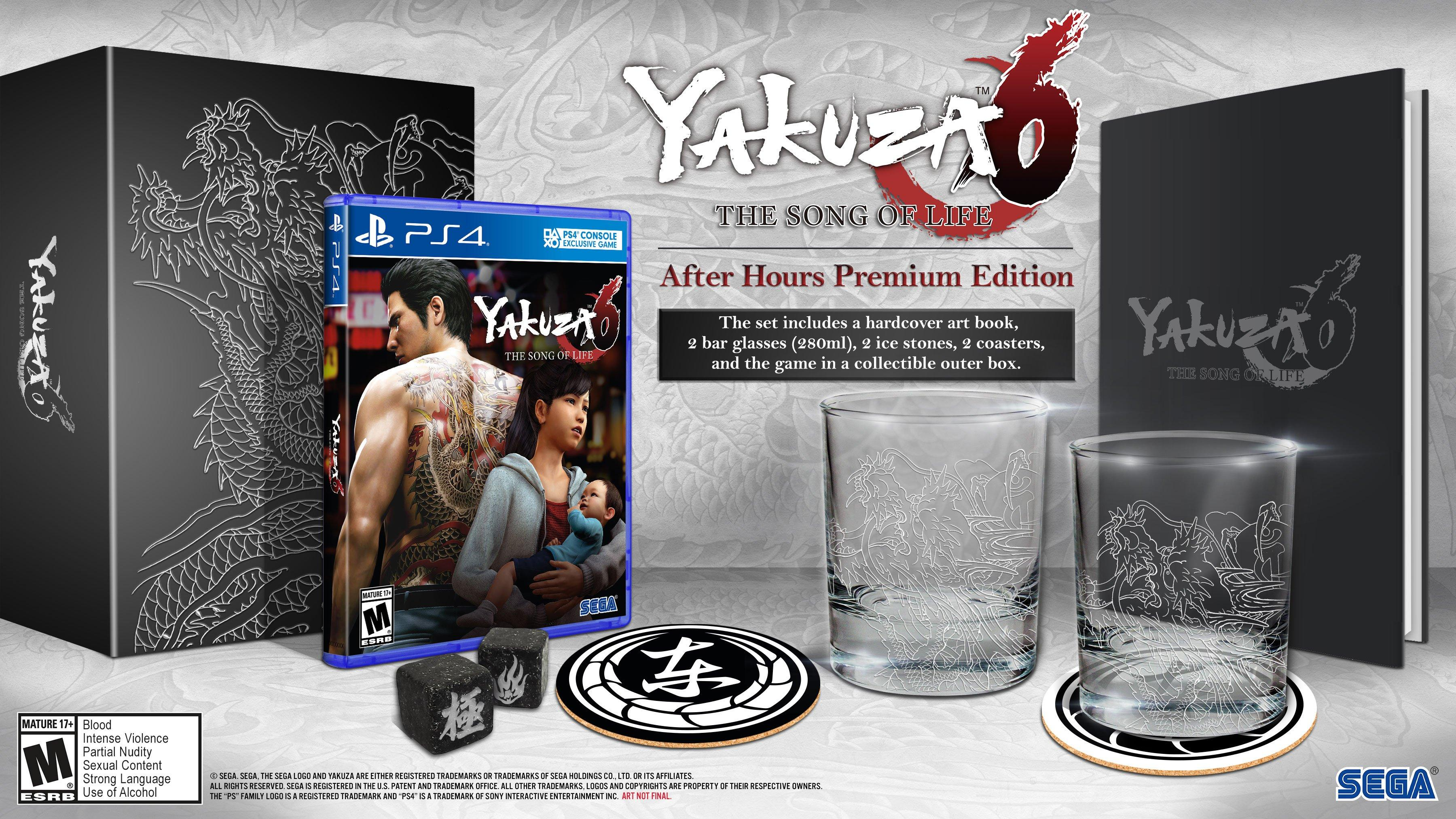 YMMV: Yakuza 6 The Song of Life Premium Edition $50 at GameStop In-Store Only