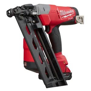 Milwaukee M18 FUEL 16 OR 15 Gauge Angle Finish Nailer Kit $199 at Acme Tools