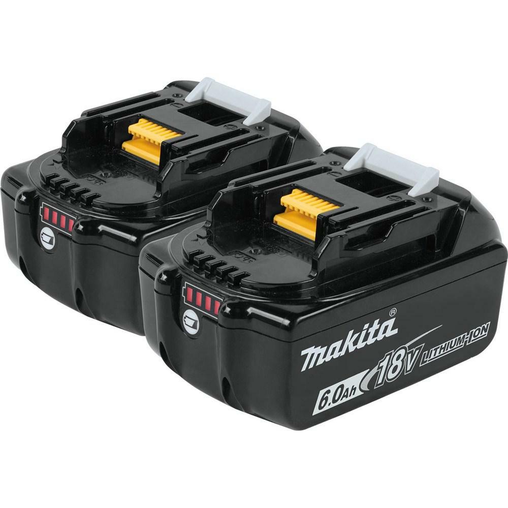 ymmv Makita 18-Volt LXT Lithium-Ion 6.0 Ah Battery (2-Pack)-BL1860B-2 - The Home Depot $90